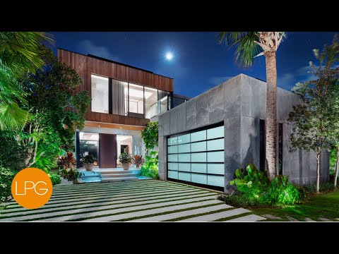 Inside the MOST INCREDIBLE Modern Miami Beach Luxury Mega Mansion
