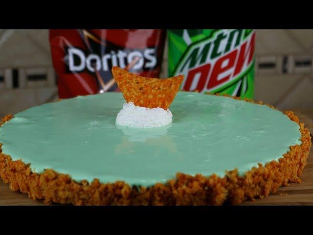 Mountain Dew Pie with Doritos Crust