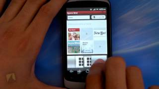 Opera Mini Browser by Opera Software ASA | Droidshark.com Video Review for Android
