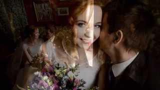 Свадьба в лиловых цветах