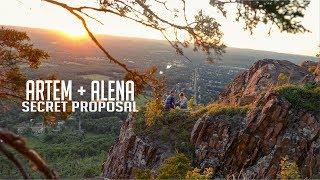 Surprise Proposal - Hidden Camera - Artem & Alena