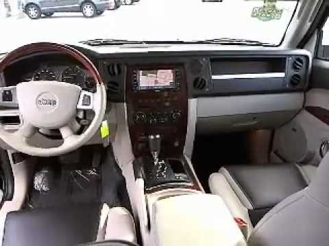 2008 Jeep Commander Overland Sport Utility 4d Los