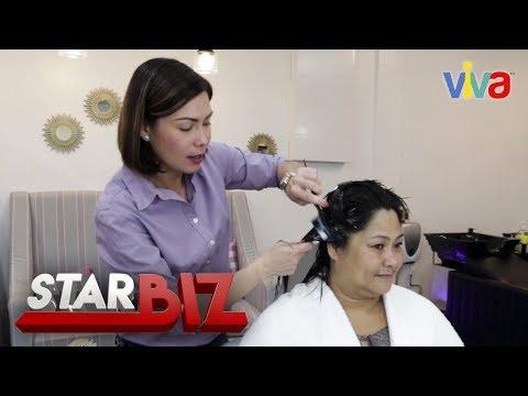 Hair Treatment with Glydel Mercado
