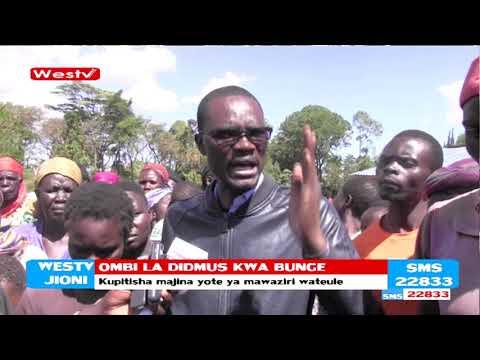 Mbunge alitaka Bunge la kitaifa kupitisha majina ya Mawaziri walioteuliwa