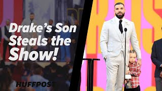 Drake's Son Steals The Show