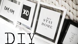 Diy | Minimal Pinterest Wall Art
