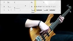 Muse - Thought Contagion (Bass Cover) (Play Along Tabs In Video)