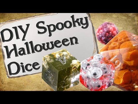 How to Make Your Own Dice | Spooky Halloween Edition