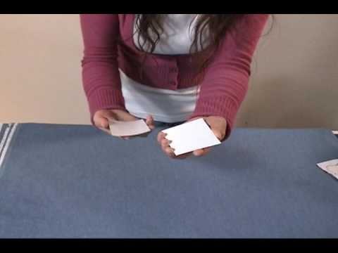 How to mount Rice Paper ACEO with Silicone Release Paper