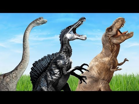 Dinosaurs Monster Mega Collection Finger Family Nursery Rhymes