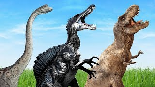 Download Video Dinosaurs Monster Mega Collection Finger Family Nursery Rhymes - Jurassic Dinosaur Cartoon Song MP3 3GP MP4