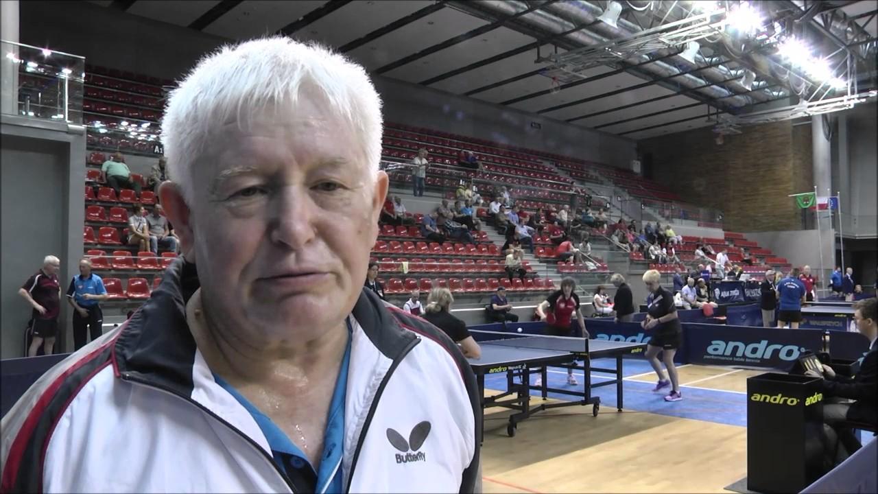 Mistrzostwa Polski w tenisie stołowym weteranów okiem kamery.