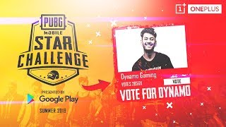 PUBG MOBILE LIVE WITH DYNAMO | PMSC VOTING PHASE 2 | VOTE FOR DYNAMO