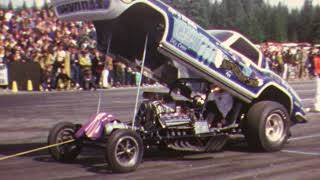 Late 60s NHRA drag racing at Seattle International Raceway