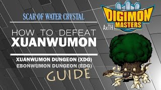 [GDMO] How to Defeat Xuanwumon Raid (XDG/EDG - Scar of Water Crystal)