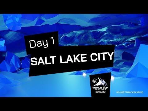 LIVE 🔴   Day 1   World Cup Salt Lake City 2019   #ShortTrackSkating