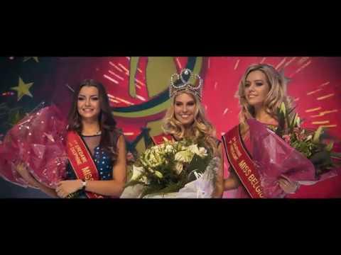 making off van het gala van Miss België