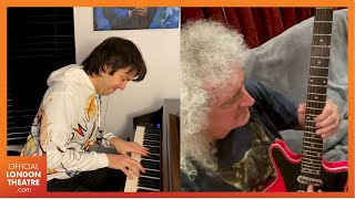 Queen's Brian May and Dominic Ferris perform You'll Never Walk Alone - Captain Sir Tom Moore tribute