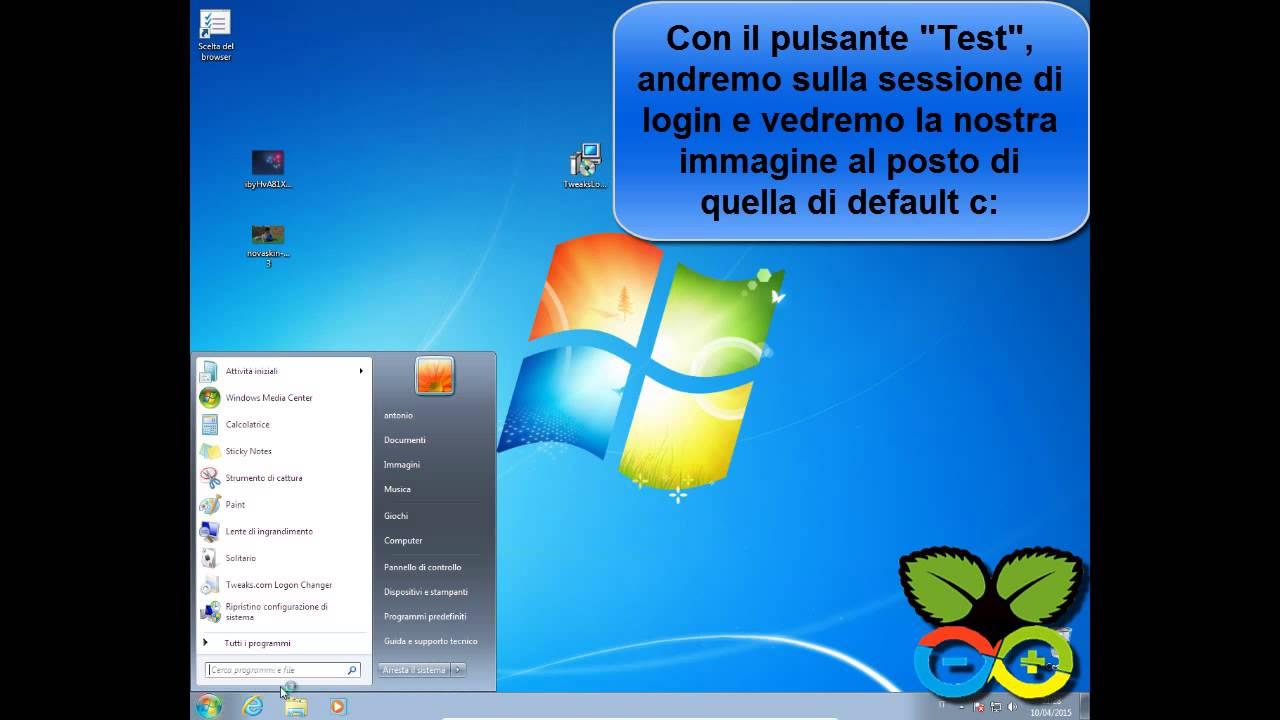 Cambiare Lo Sfondo Della Sessione Login Di Windows 788110beta