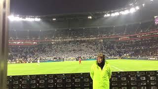 L'hommage à Nabil Fekir par les supporter lyonnais ( Lyon VS Montpellier 19/11/17 )