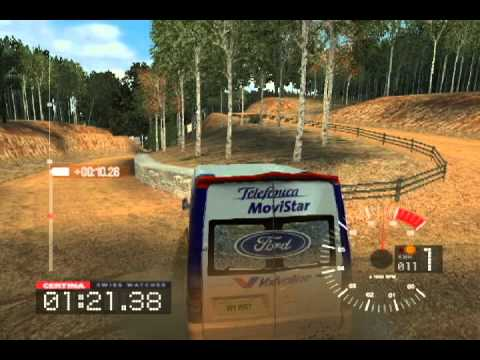 all cars colin mcrae rally 3 pc 17 ford wrc replica transit van youtube. Black Bedroom Furniture Sets. Home Design Ideas