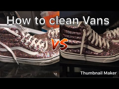 How To: Clean Vans (3 EASY STEPS)