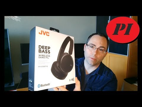 JVC Wireless Deep Bass Headphones product impressions and review