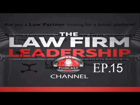 Law Firm Mergers and Combinations | Ep 15 Tom Clay Legal Consultant of Altman Weil
