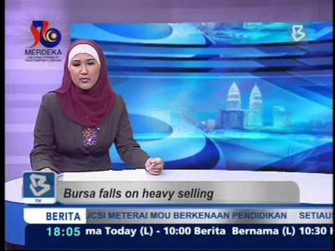 20-08-2013-Bursa Falls on Heavy Selling