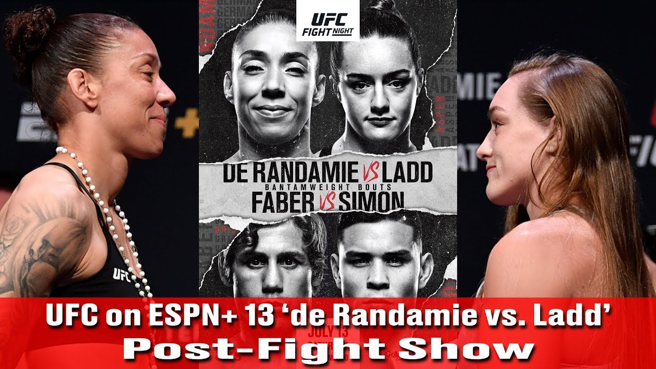 UFC Fight Night: De Randamie vs. Ladd live results