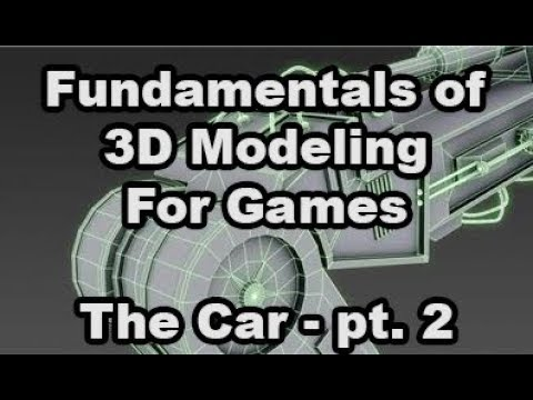 Fundamentals of 3D Modeling for Games - Assignment 03 - The Car Part 2