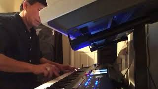I JUST DIED IN YOUR ARMS TONIGHT Cover on Roland BK-9 and Yamaha PSR s910