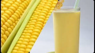Receita de Suco Feito com a Espiga do Milho Verde