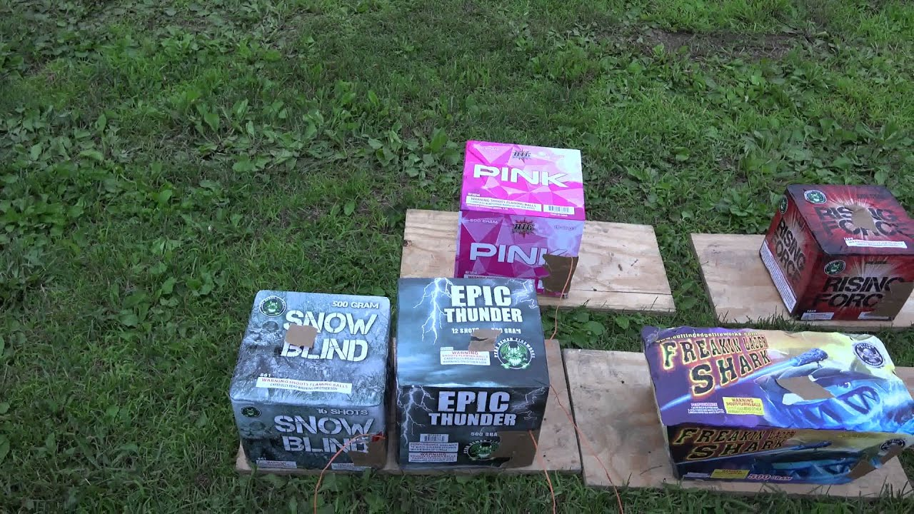 backyard fireworks show setup 2015 youtube