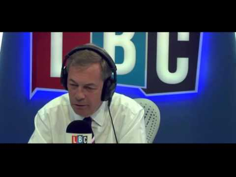 The Nigel Farage Show: Has the Brexit betrayal begun? Live LBC - 24th July 2017