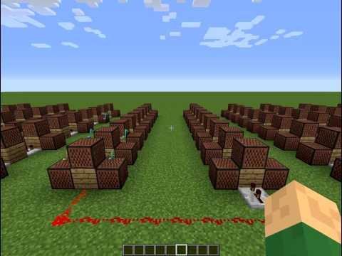 Minecraft Noteblocks Kaze - Yamazaru  山猿 -  風