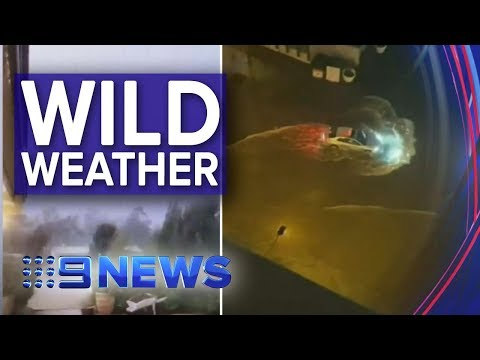 Thunderstorms Roll Into South East QLD | Nine News Australia