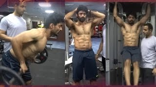 Kalyan Ram's six pack workout || Nandamuri hero's amazing transformation