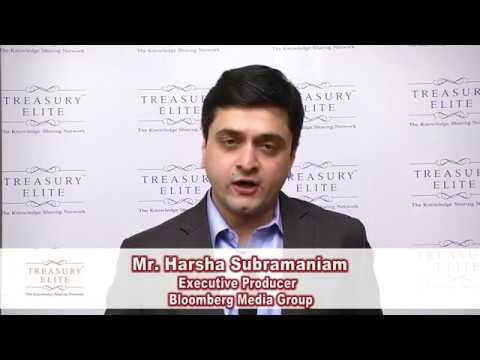 Mr. Harsha Subramaniam - Treasury Elite February 2017