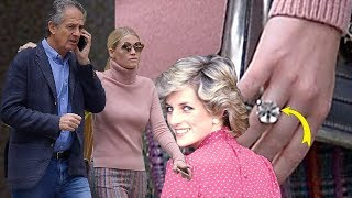 Princess Diana's niece Lady Kitty Spencer and $100m fashion tycoon go public with their romance