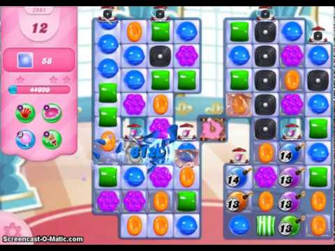 Candy Crush Saga Level 2984 No Boosters