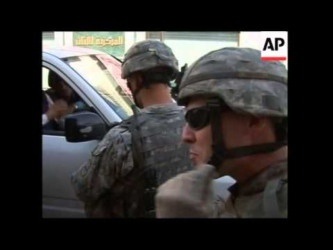 US Soldiers Conduct Searches For Missing US Soldier