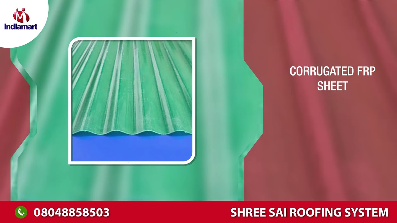 FRP And Polycarbonate Sheet Manufacturer