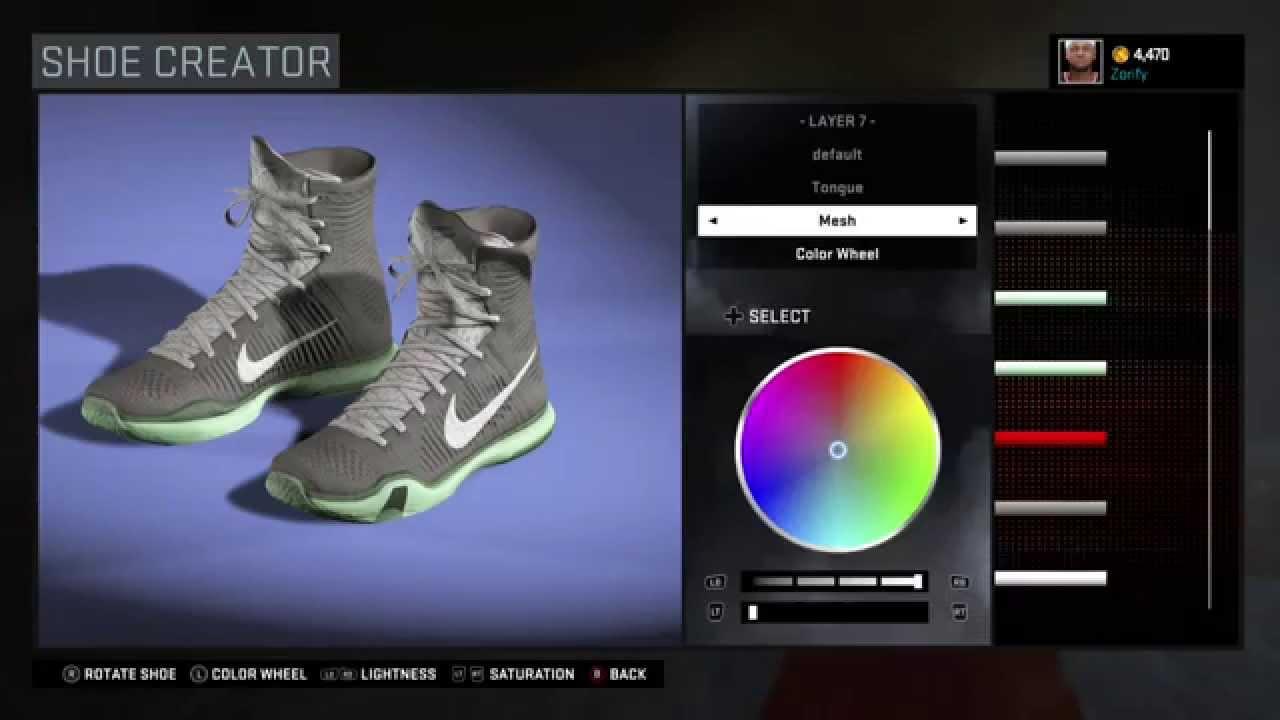 low cost a0169 285c7 NBA 2K16 Shoe Creator - Nike Kobe 10 Elite Custom