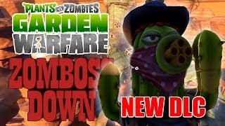 """BANDIT CACTUS"" - New Super Rare Zomboss Down Character - PvZ Garden Warfare Gameplay"
