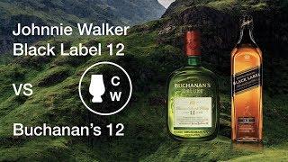 Johnnie Walker Black Label 12 y Buchanan's 12: comparativa