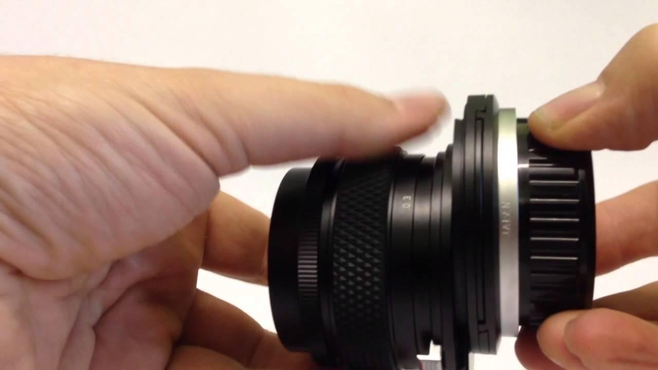 Olympus Zuiko 35mm Shift Lens