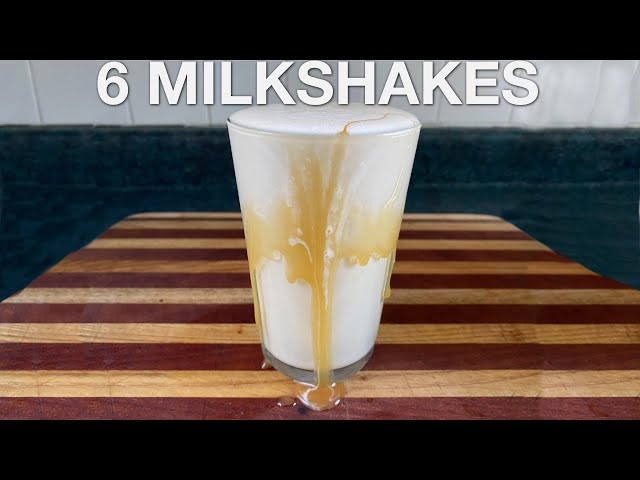 6 Milkshakes - You Suck at Cooking (episode 111)