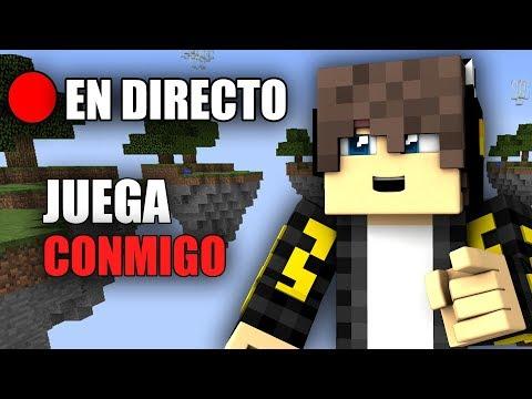 🔴JUEGA CONMIGO EN DIRECTO!!  |  MINECRAFT CUBECRAFT Y NO PREMIUM