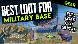 BEST LOOT IN ERANGEL? HOW TO GEAR UP AT MILITARY BASE